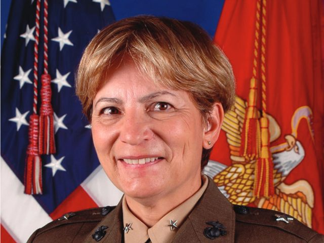 Major General (ret.) Angela Salinas